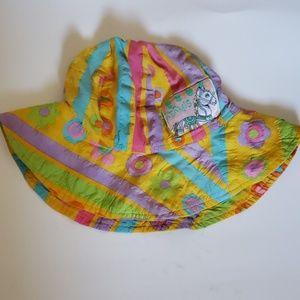 Kermis kid hat multicolored adorable